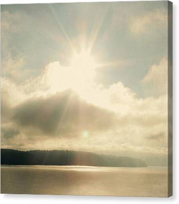 Canvas Print featuring the photograph Transcend by Sally Banfill