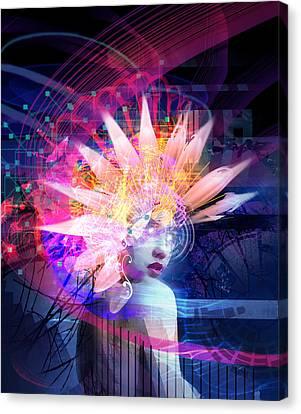 Transcendance Canvas Print by Philip Straub