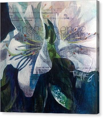 Transcendence - Azalea Canvas Print by Trish McKinney