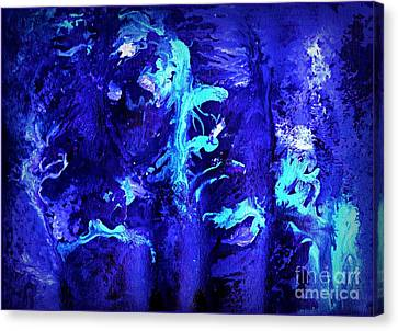 Transcendental Doo-wop Canvas Print by David Neace