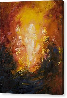 Transfiguration Canvas Print by Lewis Bowman