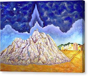 Transfiguration On Mount Zion Near Jerusalem Canvas Print by Andrew Osta