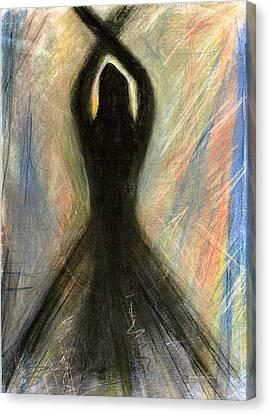 Transfixed Canvas Print by Vicki Lynn Sodora