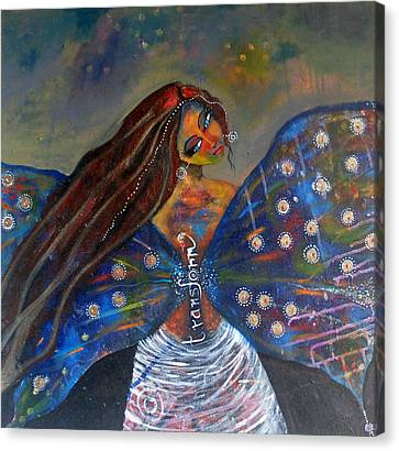Canvas Print featuring the painting Transform by Prerna Poojara