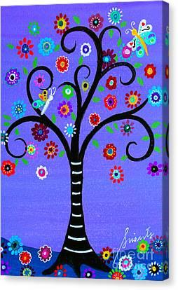 Transformation Tree Of Life Canvas Print by Pristine Cartera Turkus