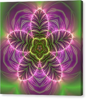 Transition Flower Canvas Print by Robert Thalmeier