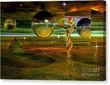 Transition Canvas Print by Shadowlea Is