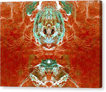 Transitioning Flow Canvas Print