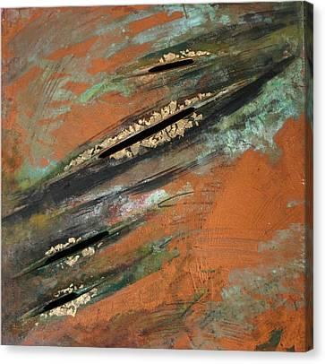 Transitory Marks Iv Canvas Print by Dodd Holsapple