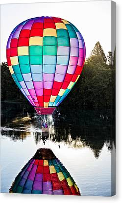 Translucent Balloon Canvas Print by Mary Jo Allen