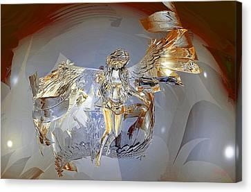 Transparent Angel Canvas Print