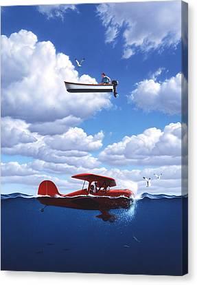 Transportation Canvas Print by Jerry LoFaro