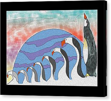 Transvolution Canvas Print