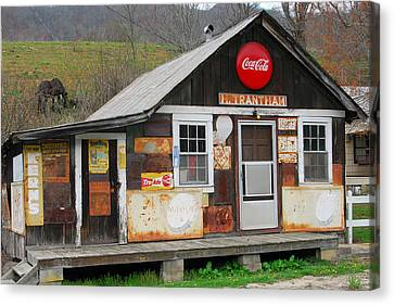 Trantham Store Canvas Print by Alan Lenk