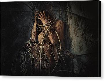 Trapped Canvas Print by Jay Satriani