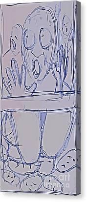 Trapped Canvas Print by John Malone