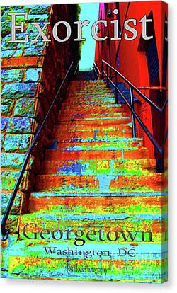 Travel-exorcist Steps Canvas Print by Jost Houk