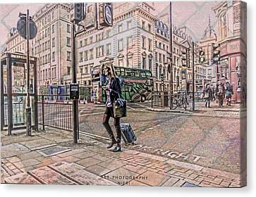 Traveling  Canvas Print by Nicole Frischlich