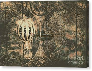 Travelling The Old World Canvas Print by Jorgo Photography - Wall Art Gallery