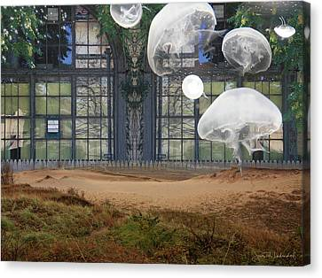 Travels With Jellyfish Canvas Print