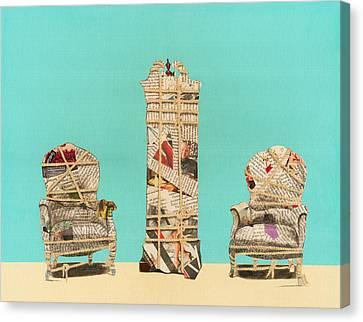 Travesty Canvas Print by Gianpaola Stinger