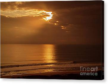 Treasure  Coast Sunrise Canvas Print