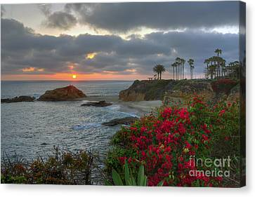 Canvas Print featuring the photograph Treasure Island Beach Shoreline by Eddie Yerkish