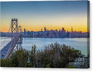 Treasure Island Sunset Canvas Print by JR Photography