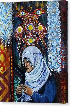 Treasure Maker Canvas Print by Anna Duyunova