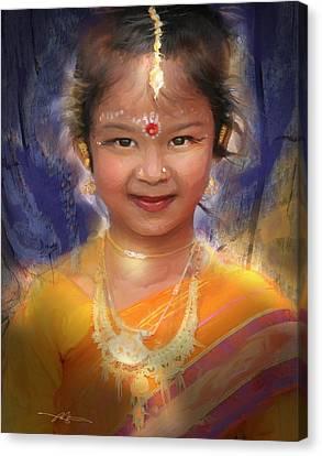 Treasure Of South Asia Canvas Print by Bob Salo