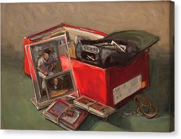 Treasure Canvas Print by Sarah Yuster