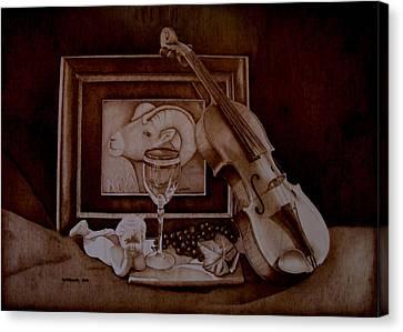 Treasures Canvas Print by Jo Schwartz