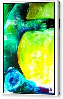 Canvas Print featuring the painting Tree 2 Peninsula Rain Forest by Carol Rashawnna Williams