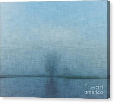 Tree Among Waters Canvas Print