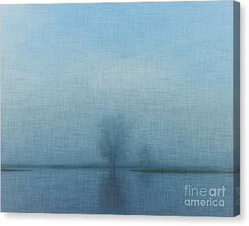 Tree Among Waters Canvas Print