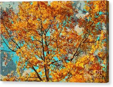 Tree Art 03 - Tl-k0111 Canvas Print by Variance Collections