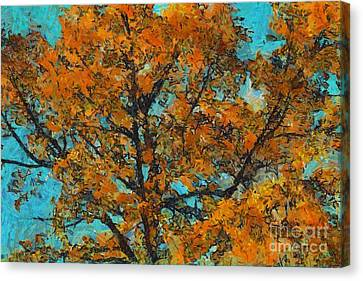 Tree Art 03 - Tlg03cc Canvas Print by Variance Collections