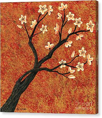 Tree Blossoms Canvas Print