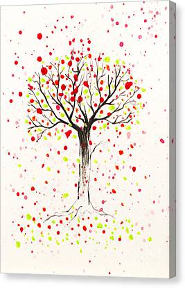 Tree Explosion Canvas Print