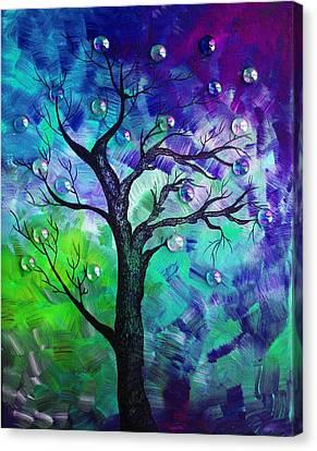 Tree Fantasy3 Canvas Print by Ramneek Narang