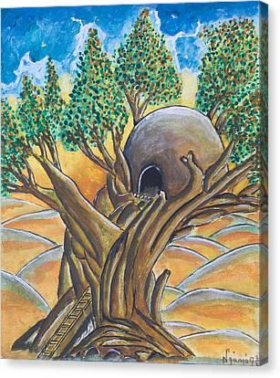 Tree House Canvas Print by Ken Nganga