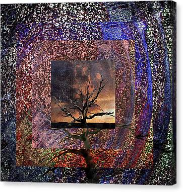 Bare Trees Canvas Print - Tree Layers 4 by Dorothy Berry-Lound