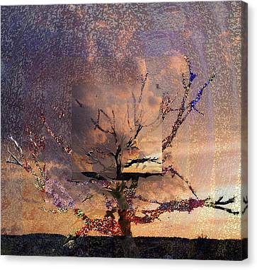 Bare Trees Canvas Print - Tree Layers 6 by Dorothy Berry-Lound