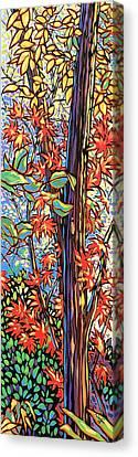 Tree Long Canvas Print by Nadi Spencer