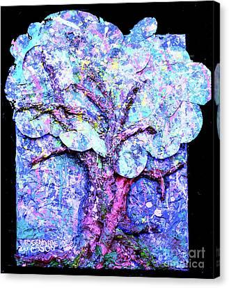 Tree Menagerie Canvas Print