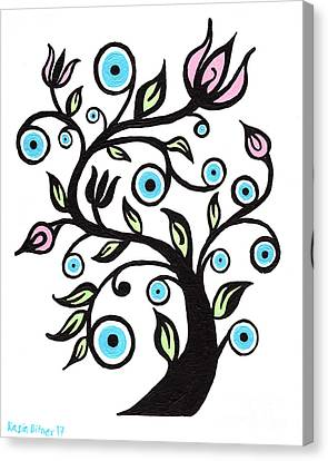 Canvas Print - Tree Of Eye by Kasia Bitner