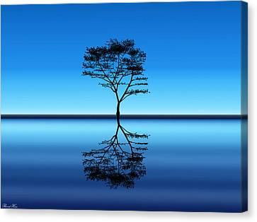 Canvas Print featuring the photograph Tree Of Life by Bernd Hau