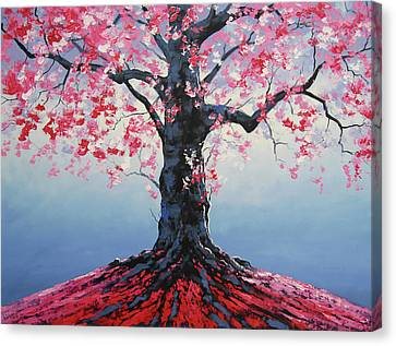 Tree Of Life Canvas Print by Graham Gercken