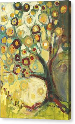 Nature Abstract Canvas Print - Tree Of Life In Autumn by Jennifer Lommers