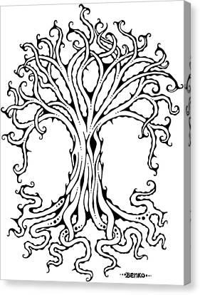Tree Of Life Canvas Print by John Benko